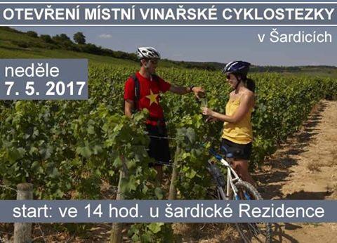 otevření vinařské cyklostezky Šardice vinařství karlík